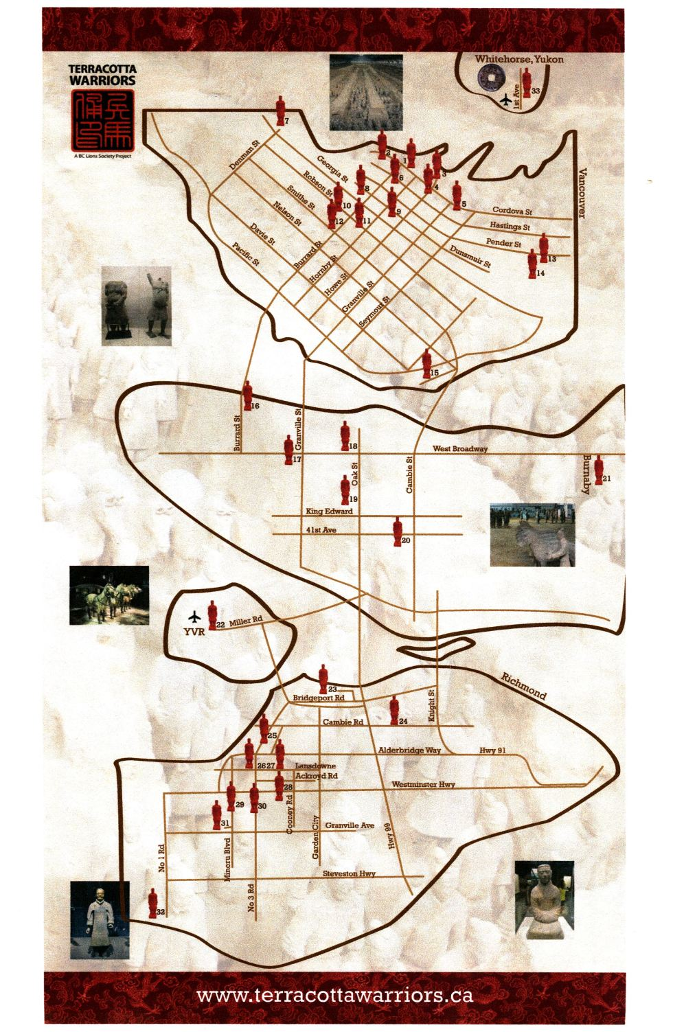 The Map - Terracotta Warriors