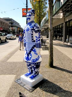 # 17 Blue and White Porcelain-ware / Artist Regina Liao