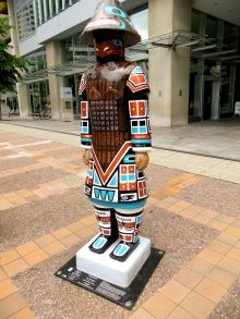 # 4 Tlingit Warrior / Artist Una-Ann Moyer