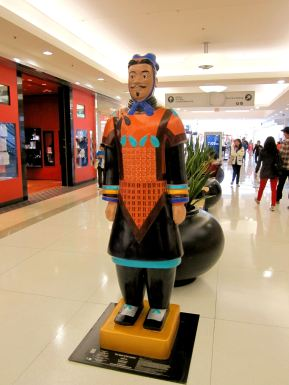 # 20 The Spirit of the Warrior / Artist Hilda Ho