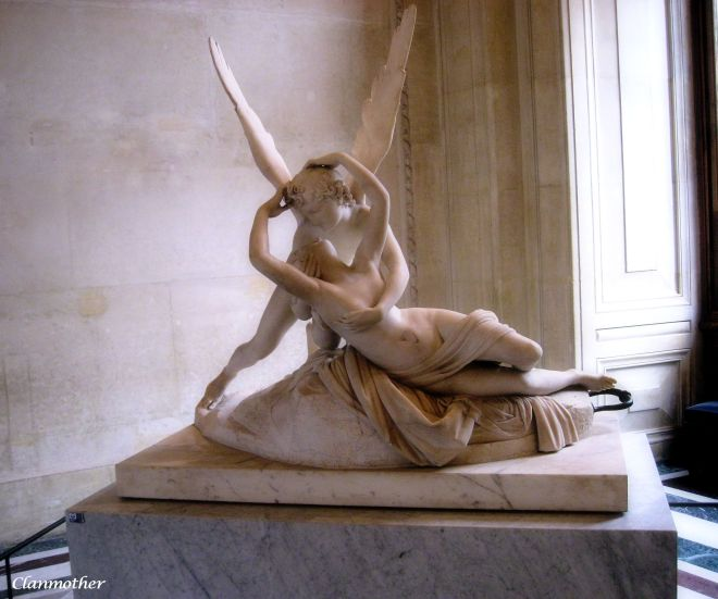 Psyche Revived by Cupid's Kiss, Louvre