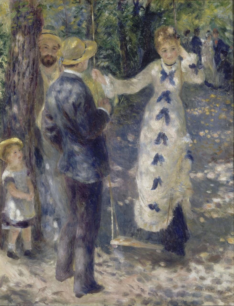 The Swing Pierre-Auguste Renoir [Public domain], via Wikimedia Commons